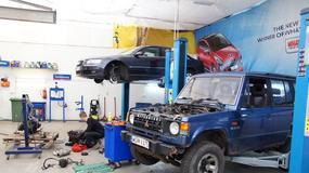 Przegląd auta w warsztacie samoobsługowym