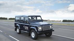 Elektryczny Land Rover Defender
