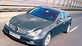 Mercedes CLS 320 CDI - Dystyngowane coupé