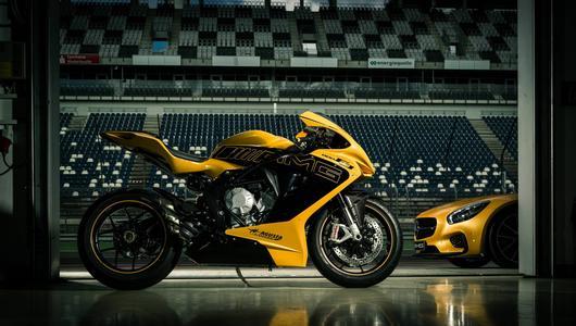 Mariaż Mercedesa i MV Agusta – motocykle dostępne w salonach Merca