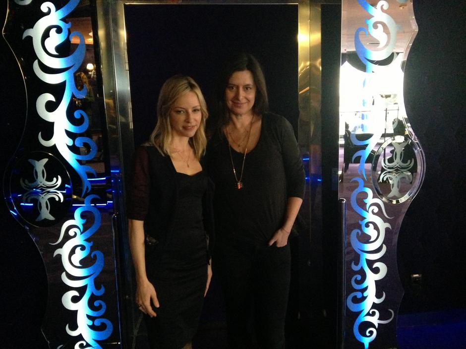Heidi Bivens i Grażyna Olbrych