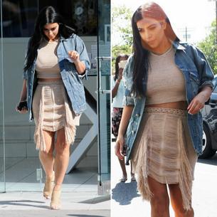 Best Look: Kim Kardashian w Magda Butrym