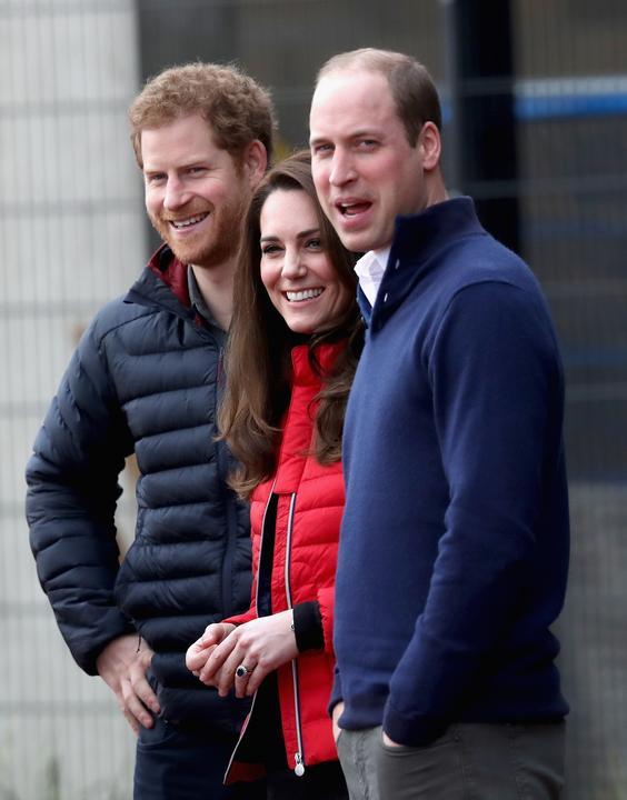 A család láthatóan jól érezte magát / Fotó: Europress - GettyImages