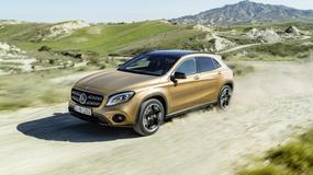 Mercedes GLA - lifting