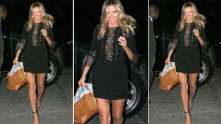 Best Look: Heidi Klum w sukience Self Portrait