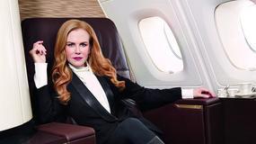 Nicole Kidman reklamuje linie lotnicze
