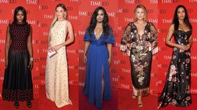 Demi Lovato świeci dekoltem a Ashley Graham się wygłupia na gali w Nowym Jorku