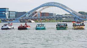 Pływające samochody - Dutton Surf, GAZ-46, Amphicar XL, Beijing Jeep i RMZ Amphi-Ranger