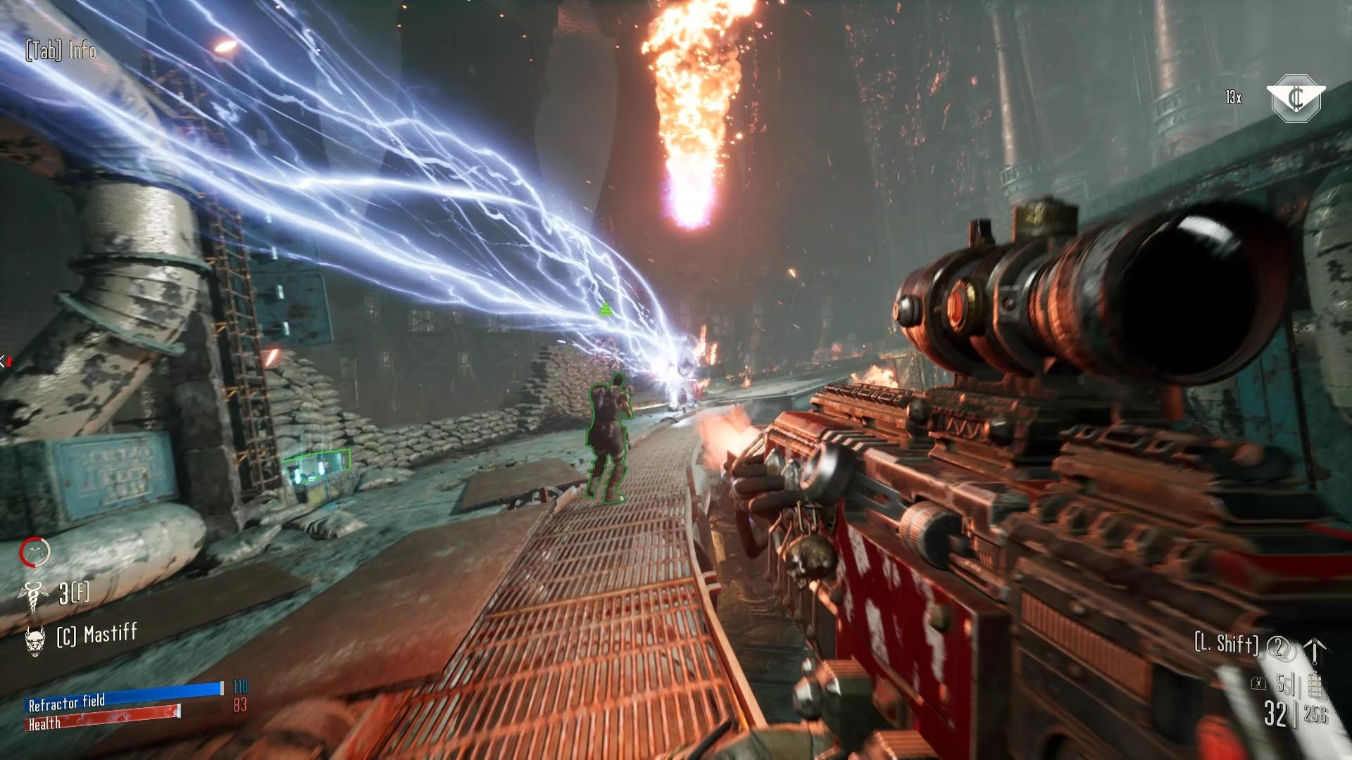 Hrateľnosťou je nová Necromunda čistokrvnou strieľačkou so štipkou RPG prvkov.
