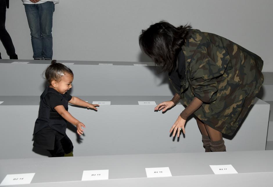 Goście na pokazie Kanye Westa / Getty Images