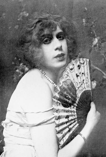 Einar Wegener/Lili Elbe w 1926 roku