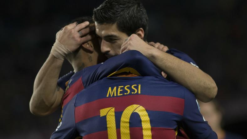 Messi és Suárez a szabadidejükben is együtt lógnak / Fotó: AFP