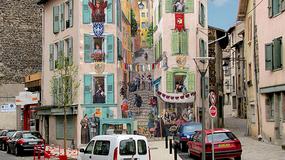 Francuski artysta przekształca ściany kamienic w hiperrealistyczne murale