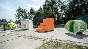 Wrocław: studenci zbudowali schronienia dla uchodźców