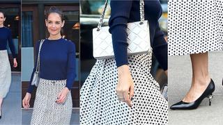 Best Look: Katie Holmes w zestawie Chanel