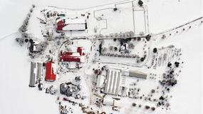 Zimowe zdjęcia z lotu samolotem nad Nowym Jorkiem na wystawie w Sopocie