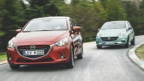 Mazda 2 kontra Opel Corsa - Maluchy dojrzalsze niż myślisz