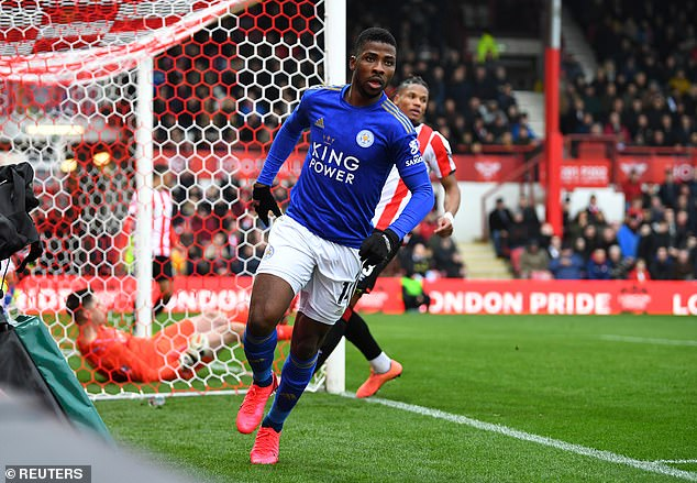 Kelechi Iheanacho and his Leicester City teammates are training at home while in lockdown during the coronavirus crisis (Reuters)
