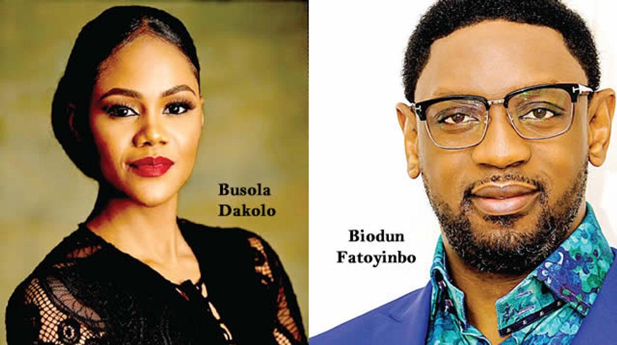 Busola Dakolo and Biodun Fatoyinbo (Punch)
