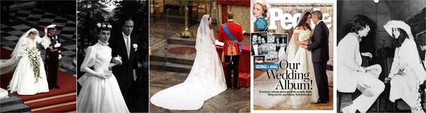 O tych sukniach ślubnych mówił cały świat