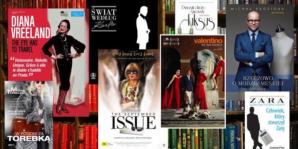Najciekawsze książki i filmy o modzie