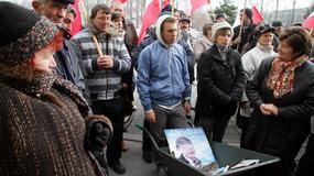 Protest hodowców ogórków