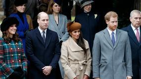 Brytyjska rodzina królewska na nabożeństwie. Oczy wszystkich zwrócone były na Meghan Markle