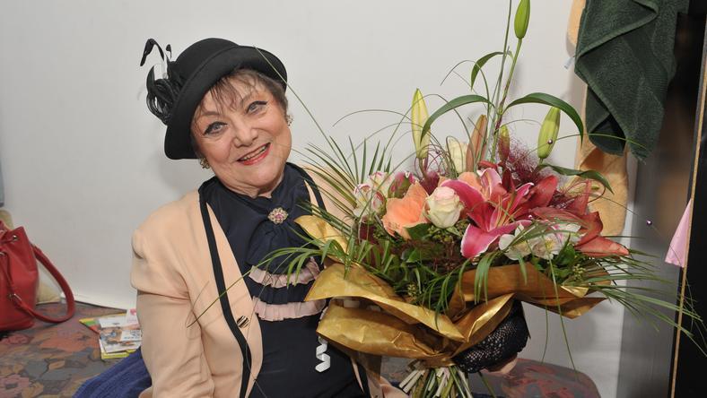 A színésznő több mint 50 éve tagja a Madách Színháznak / Fotó: RAS Archívum