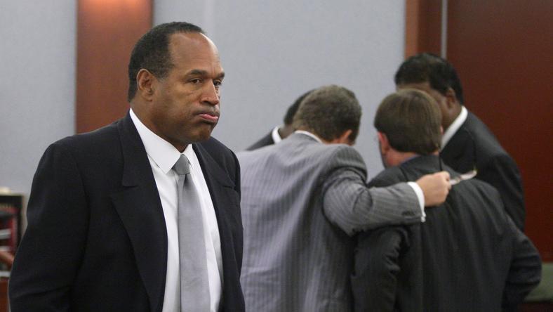 OJ Simpson a kettős gyilkosságot megúszta, a fegyveres ranblásért azonban elítélték. / Fotó:AFP