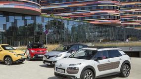 Porównanie crossoverów: kolorowy świat miejskich samochodów