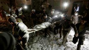 W rosyjskich nalotach w Syrii zginęło ponad 60 osób