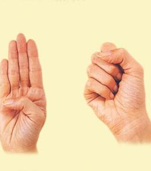 kéz izületi torna