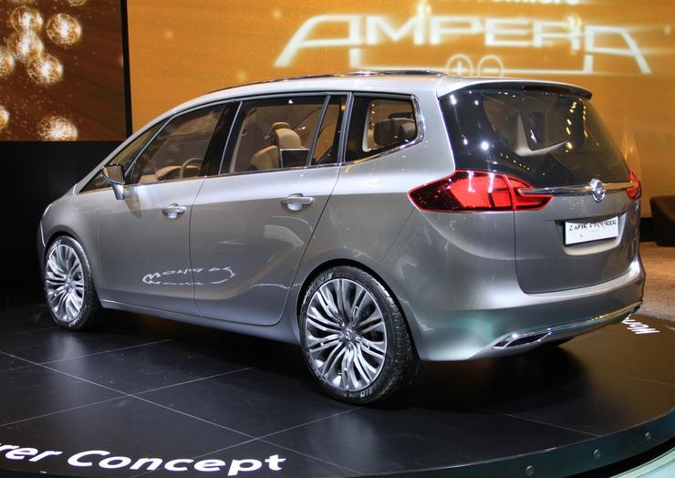 2008 Opel Zafira Tourer Concept Car Pictures