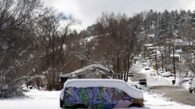 A w Arizonie atak zimy!