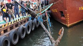 Kołobrzeg - wyłowiono 300-letnią kotwicę!