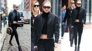 Best Look: Gigi Hadid w kurtce Kith
