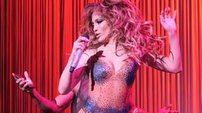 Jennifer Lopez podczas pełnego seksu koncertu