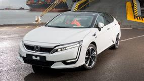 Wodorowa Honda Clarity – pierwsze egzemplarze w europie