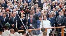 Skromny prezes PiS w Częstochowie. Zobacz, co zrobił na mszy