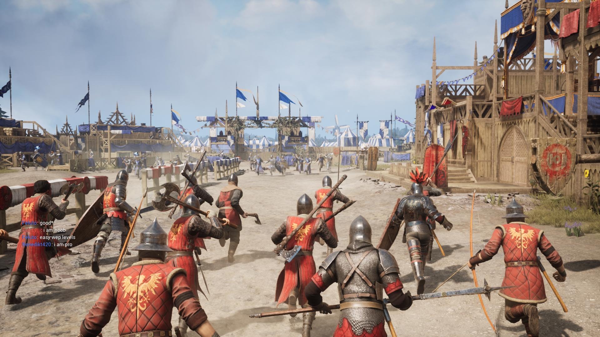 Zavítame na bojiská, do pevností či dokonca na turnajové plochy.