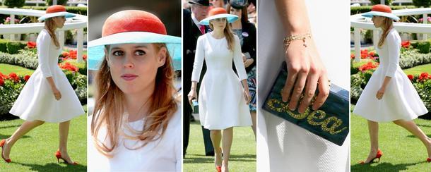 Best Look: Księżniczka Beatrice na Royal Ascot