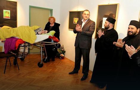 Sa otvaranja Danijeline izložbe u Subotici