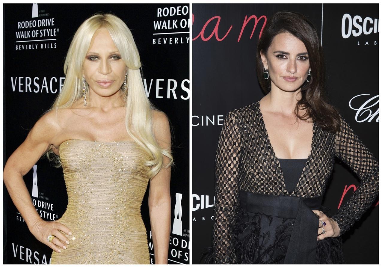 Donatella Versace i Penelope Cruz