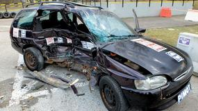 Zardzewiałe autozagraża życiu pasażerów