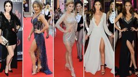 Edyta Herbuś, Hanna Żudziewicz i inne celebrytki odsłaniają nogi na imprezie. Która ma najzgrabniejsze?