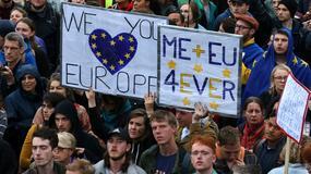 Protest w stolicy Wielkiej Brytanii. Londyńczycy nie chcą wychodzić z Unii Europejskiej