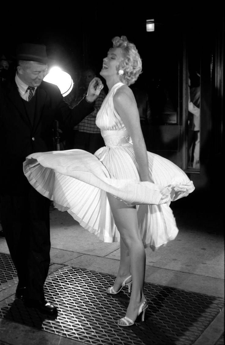 "Marilyn Monroe w ""Słomianym wdowcu"""