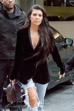 Kourtney Kardashian w sukience polskiej marki