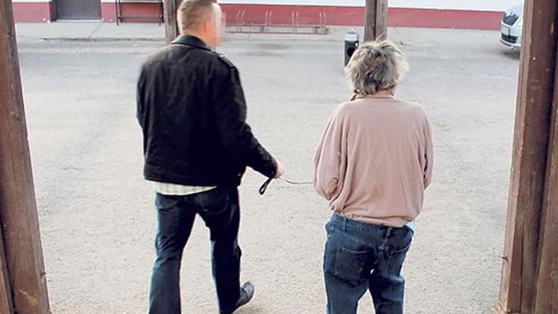 A férfit a gyilkosság után  azonnal elfogták /Fotó: police.hu