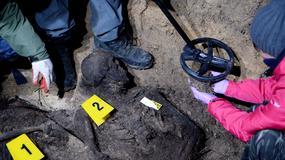 Świętokrzyskie: odnaleziono szczątki dwóch ofiar egzekucji